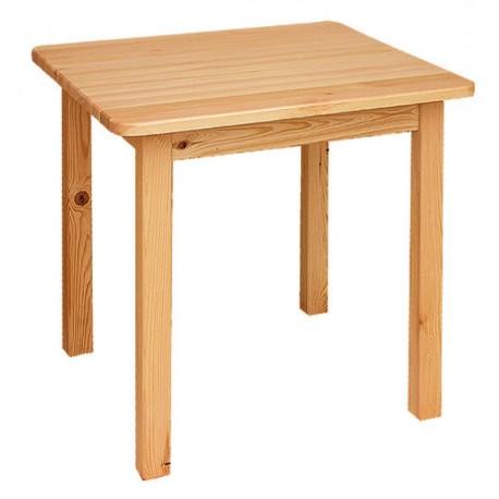 Stôl štvorcový, rovné nohy - ST01