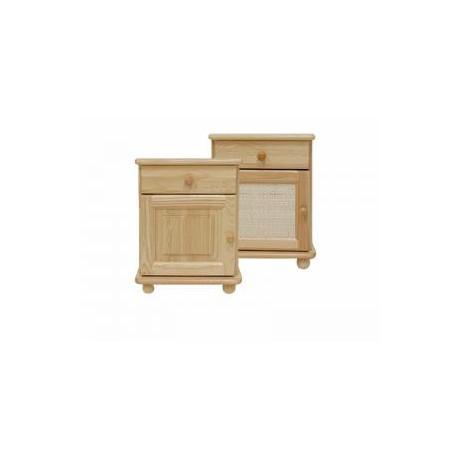 Nočný stolík, šuflík a skrinka - NOC03