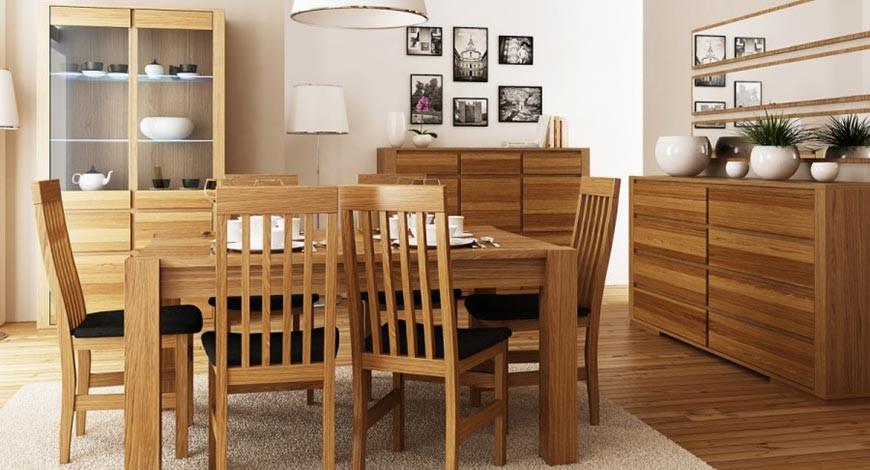 Exkluzívny dubový nábytok